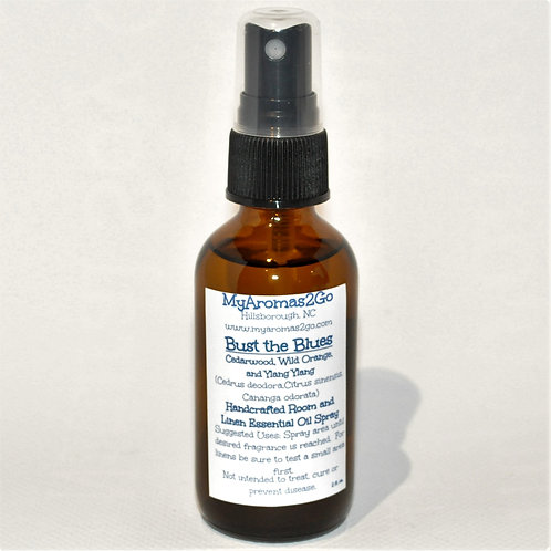 Bust the Blues 2oz Essential Oils Spray