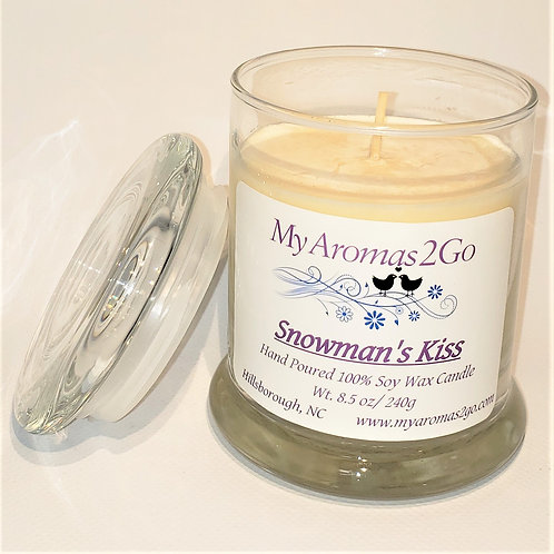 Snowman's Kiss 8.5 oz Candle