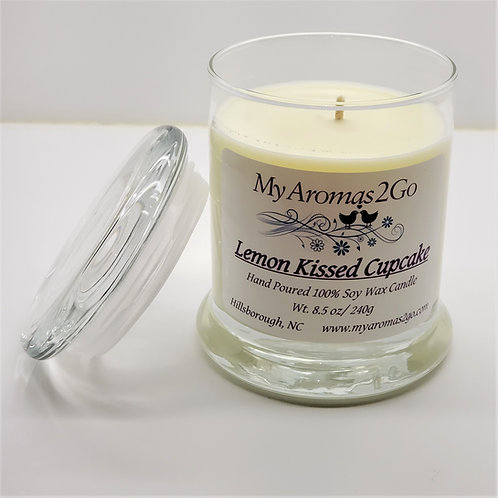 Lemon Kissed Cupcake 8.5oz Candle