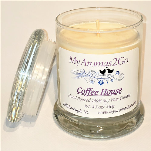 Coffee House 8.5 oz Candle