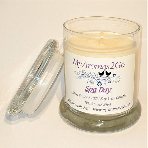 Spa Day 8.5oz Soy Candle
