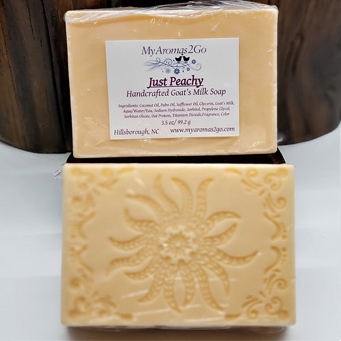 Just Peachy Goat Milk Soap
