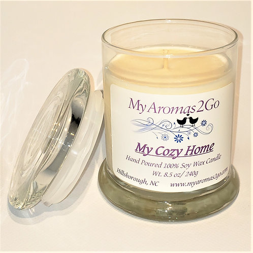 My Cozy Home 8.5 oz Soy Candle