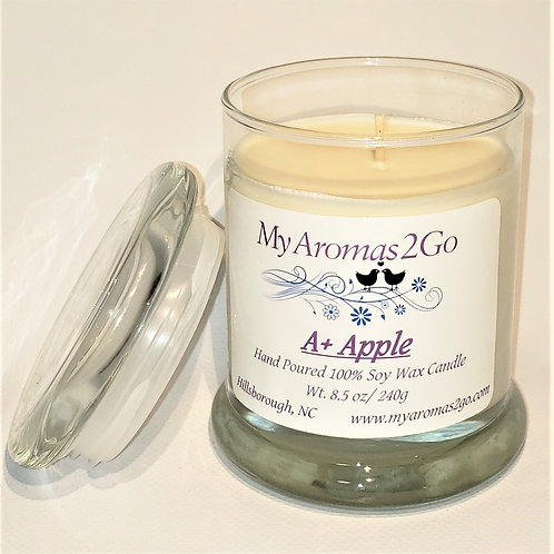 A+ Apple 8.5 oz Candle