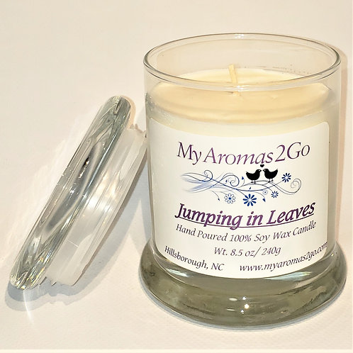 Jumping In Leaves 8.5oz Candle