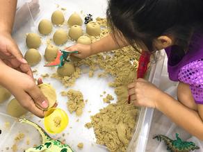 Kinetic Sand Play!