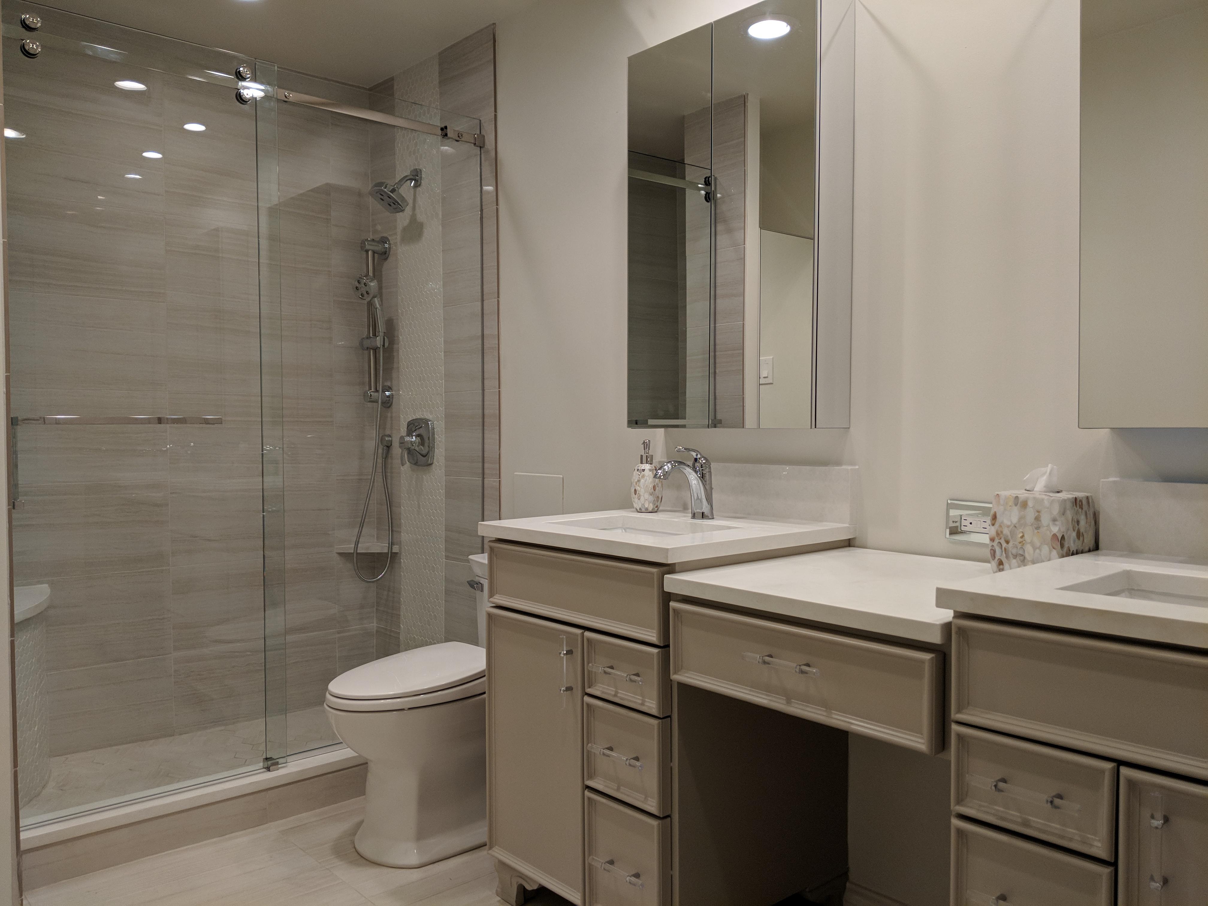 Condo Tower Bathroom