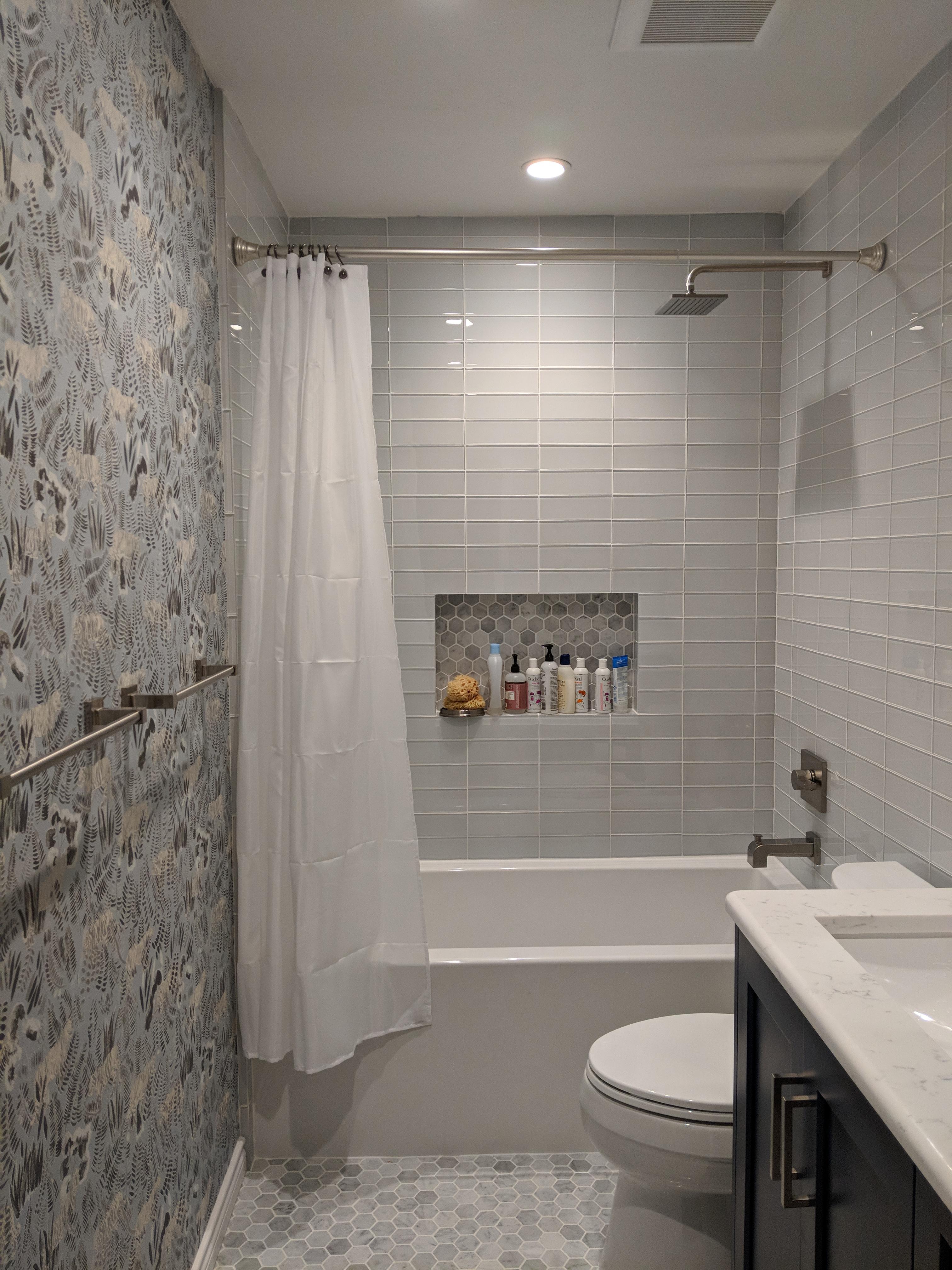 Meandering Guest Bathroom