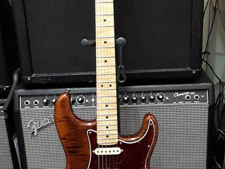 FENDER RARITIES STRATOCASTER ARRIVES FROM CALIFORNIA