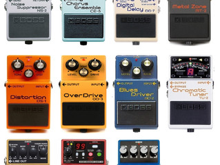 BOSS ARE THE BOSS OF GUITAR PEDALS
