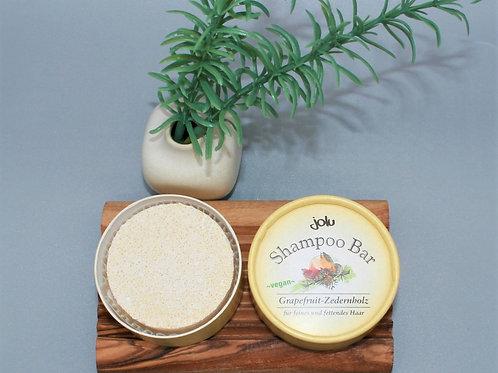 jolu Shampoo Bar Grapefruit-Zedernholz