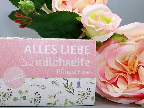 Florex Schafmilchseife mit dekorativer Banderole