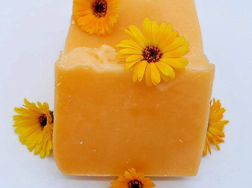 Kleine Auszeit Ringelblumen-Haarseife vegan
