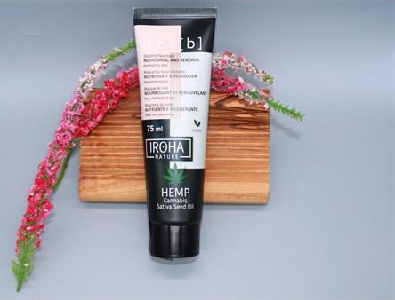 Iroha Hanf-Gesichtsmaske