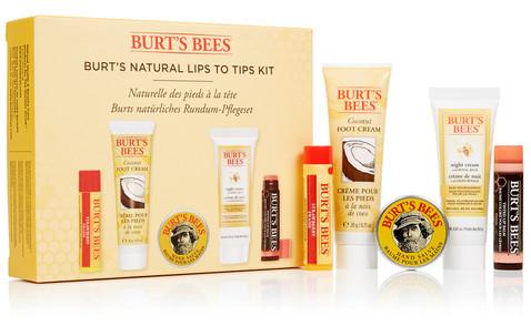 Burt's Bees Natural Lips to Tips Kit
