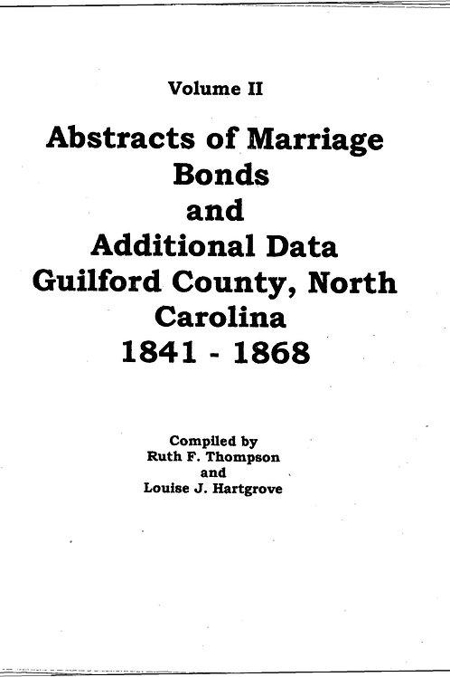 Marriage Bonds Vol II