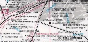 Hughes Map 1797