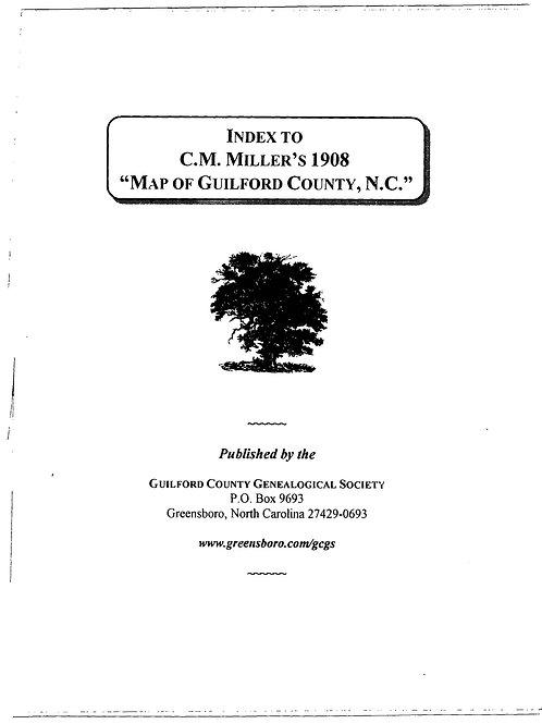 Miller Map 1908