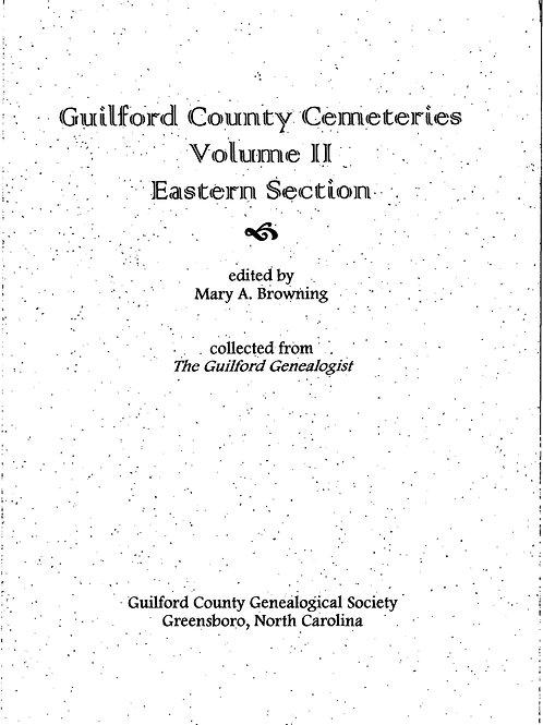 Cemeteries Vol II