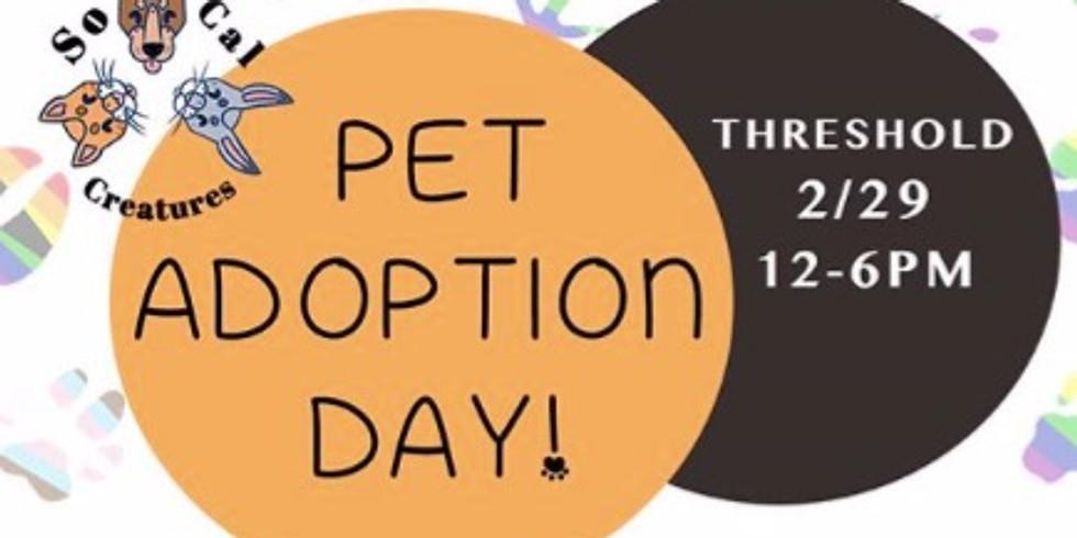 Pet Adoption Day!