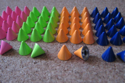 Color Whisker Spikes
