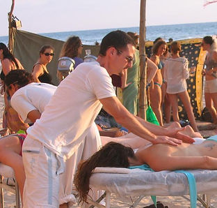 massage at a batchlorette party 052-3875541