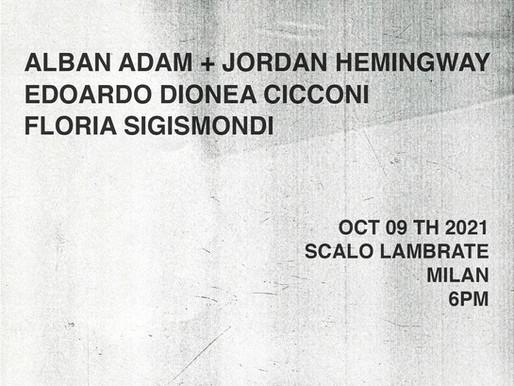RES.IN #02 presenta:Alban ADAM + Jordan HEMINGWAY, Edoardo Dionea CICCONI, Floria SIGISMONDI.
