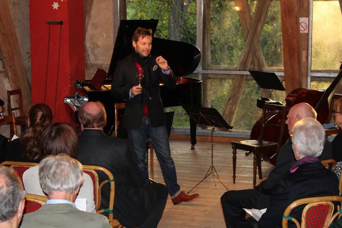 Musikalischer Salon auf Burg Schaubeck