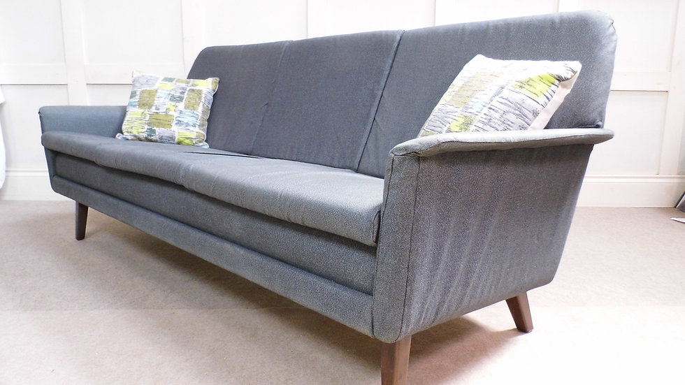 Vintage Retro Folke Ohlsson Frits hansen Dux Sofa and Armchair