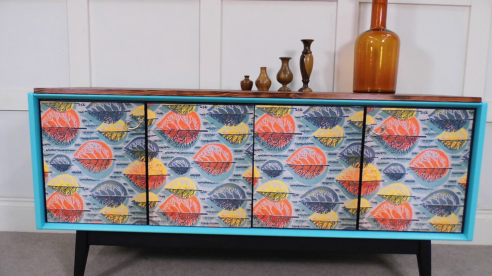 Restyled GPlan Tola 1950s Remixed Rewind Interiors Sideboard TV stand Unique