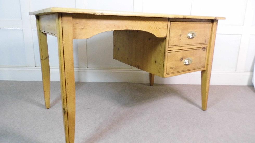 Vintage Antique Reclaimed Pine Desk - Vintage Retro Furniture Mid Century UK Vintage Retro Warehouse