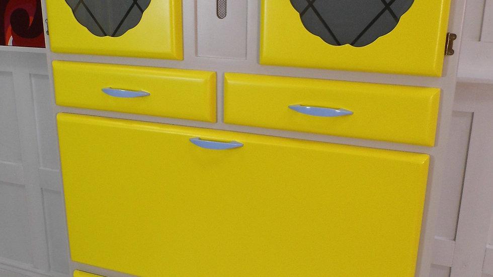 Vintage Retro Fully Restored Pride O Home Kitchen larder cabinet