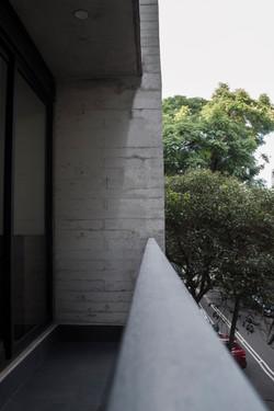 Muro en fachada