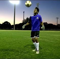 2018 Goalkeeper Santiago Esparza Juggles