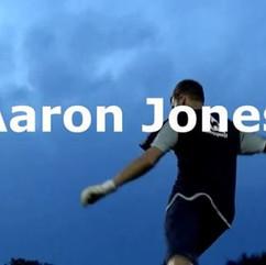 Aaron Jones (Goalkeeper) is in his eleme