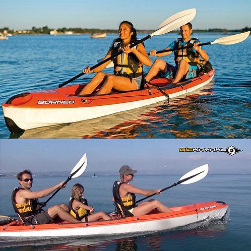 Location de kayak 3 places / séjour