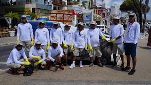 Com participação da JMT, 13 toneladas de lixos são recolhidas no Dia Mundial da Limpeza