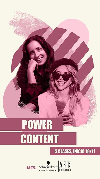 Curso Power Content