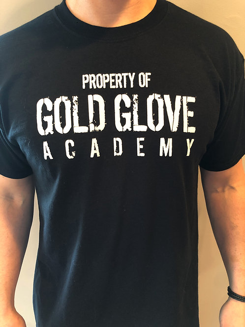 "NEW Gold Glove Academy ""Property Of"" Tee"
