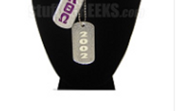 Alpha Theta Omega dog tags