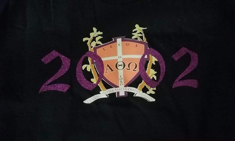 Glitter 2002 shield shirt short sleeve