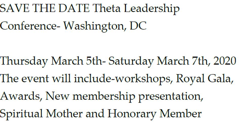 Alpha Theta Omega Christian Sorority Inc. Leadership/WEE Conference 2020
