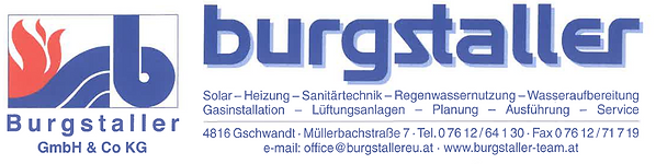 VG Gmunden | Partner | Burgstaller