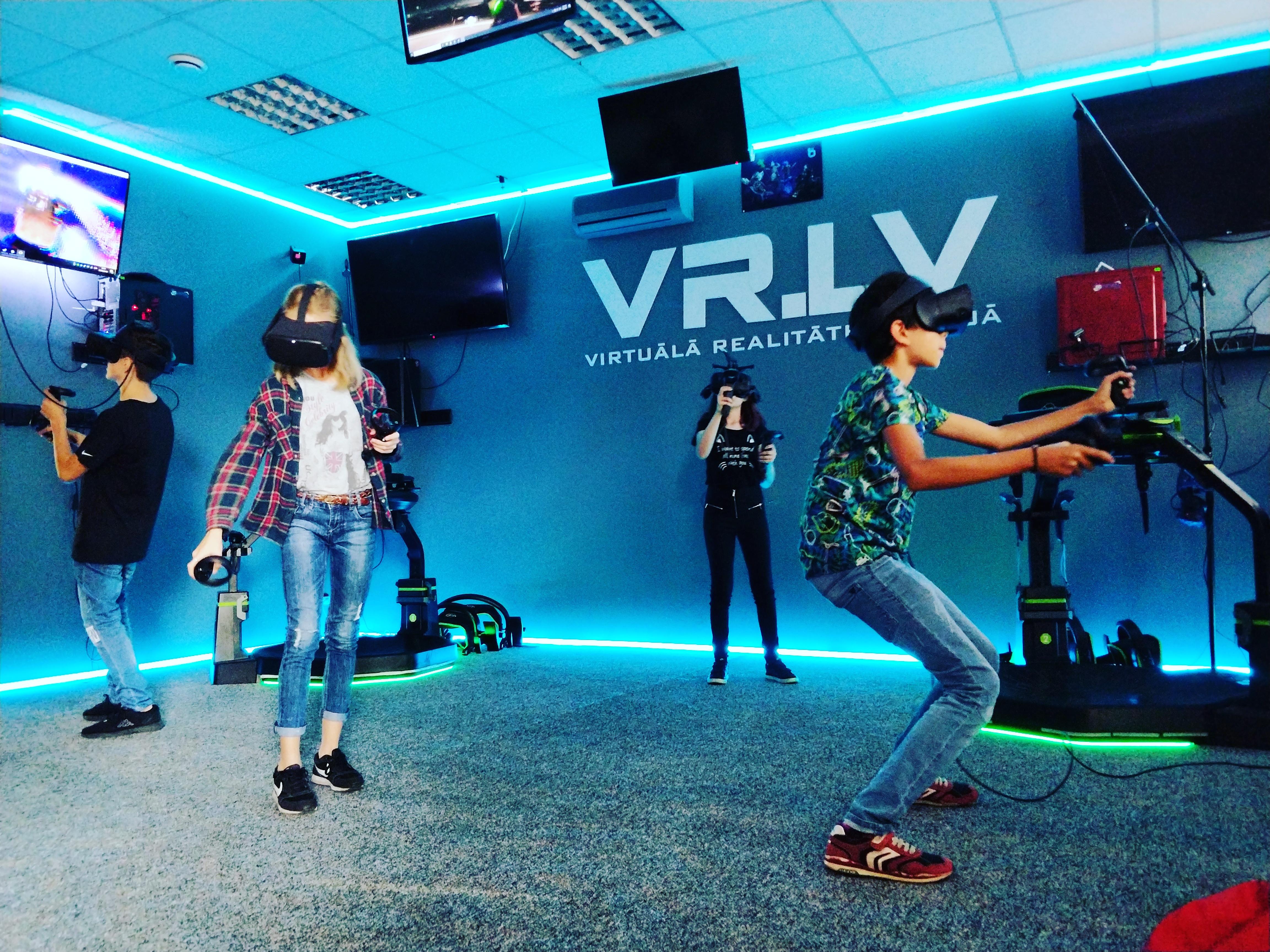Виртуальная реальность (1 человек)