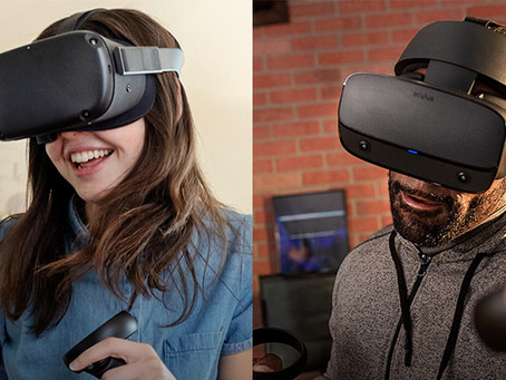[eng] Oculus Rift S and Oculus Quest are now available
