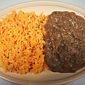 #4. Arroz Y Frijoles. Rice and Beans.