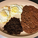 #4. Huevos Con Barbacoa. Eggs With Barbecue.