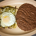 #3. Enchiladas Montadas. Enchiladas Topped With Eggs.