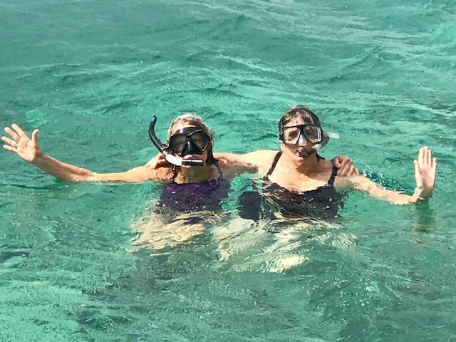 Snorkeling, Rose Island, Bahamas