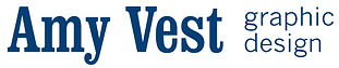 Amy Vest graphic design logo